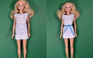 Выкройки для барби: как сшить одежду своими руками в натуральную величину