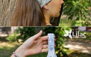 Как сшить косынку на резинке для девочки своими руками: выкройка для женщины