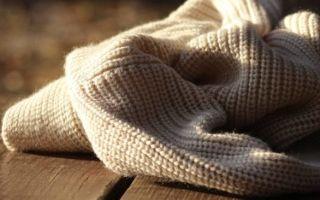 Как растянуть шерстяной свитер или другую вещь: как вернуть форму шапке и кофте