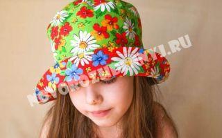 Панамка для девочки: сшить своими руками, выкройки для мальчика советских времен