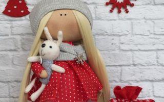 Выкройка куклы большеножки ростом 25 см: сшить своими руками, инструкция