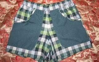 Выкройка детских шорт для мальчика и для девочки на резинке, как сшить