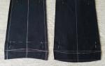 Как подшить брюки: потайным швом, вручную и на машинке, для начинающих