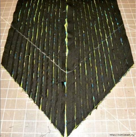 Техника синель для шитья: что это такое в одежде, описание для начинающих