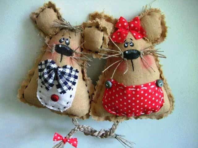 Выкройка мышки или крысы из ткани своими руками в натуральную величину