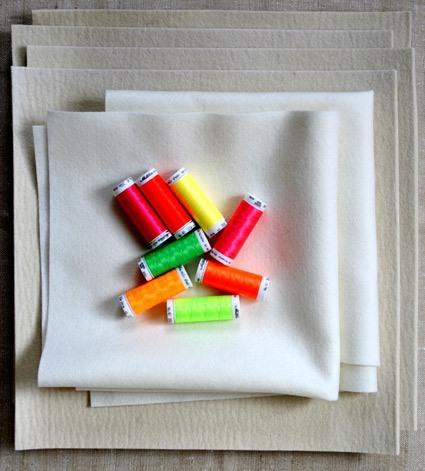 Панно из фетра своими руками: времена года для детей, цветы из ткани