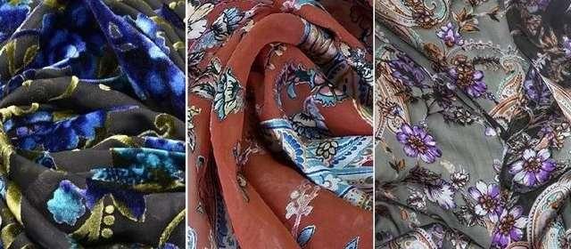 Деворе (ткань): что это такое,бархат, шелк или органза, применение материала