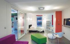 Тканевые потолки: натяжные, плюсы и минусы, ткань, производители, виды