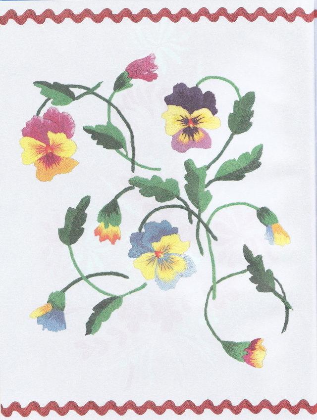 Вышивка гладью цветов: схемы и шаблоны композиций для начинающих рукодельниц