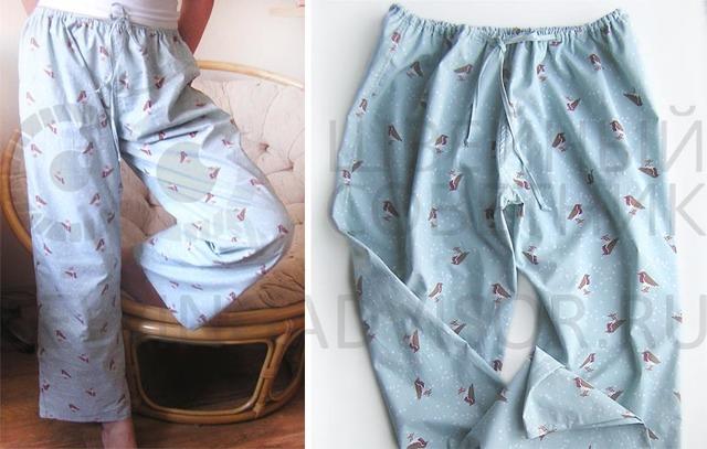Выкройка пижамы женской с шортами: как сшить на резинке для начинающих