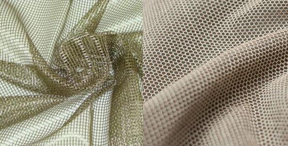 Ткань сетка: как называется, материал для платья, с рисунком, техническая