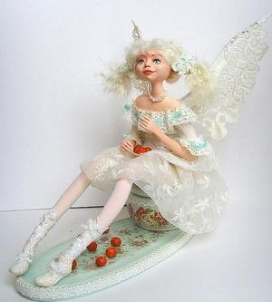 Ангел из ткани своими руками: мастер класс создания белой куклы, выкройка