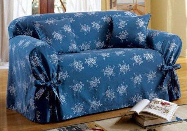 Как сшить чехол на диван своими руками: пошаговая инструкция, легкий способ
