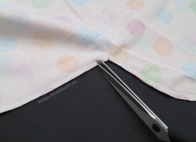 Пеленка кокон для новорожденных: выкройка на молнии, сшить своими руками