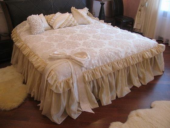 Покрывало своими руками на кровать: как сшить, пошаговая инструкция