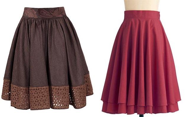 Как сшить юбку на резинке своими руками: пошагово, выкройка для начинающих