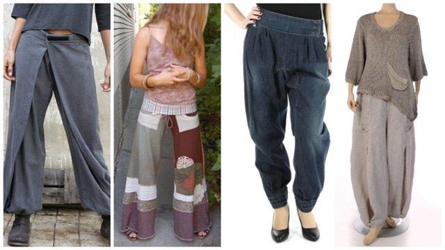 Выкройка для штанов: как сделать, пошаговая инструкция построения и шитья