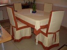 Выкройка на чехлы для стульев: как сшить своими руками, пошаговая инструкция