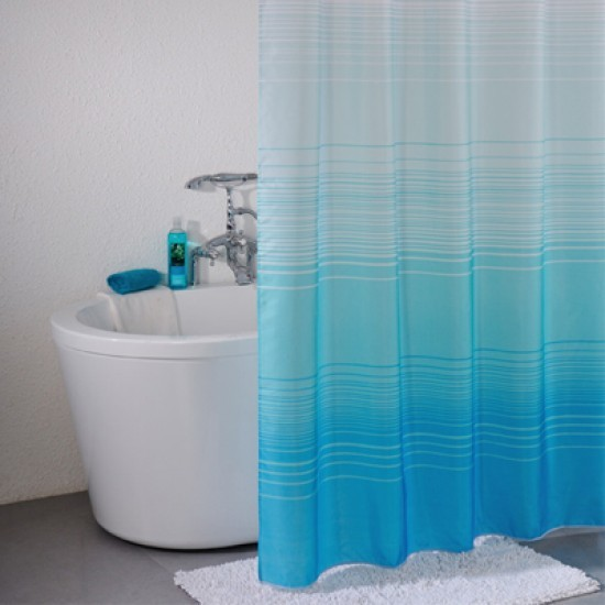 Шторка для ванной (тканевая): непромокаемая занавеска, особенности материала