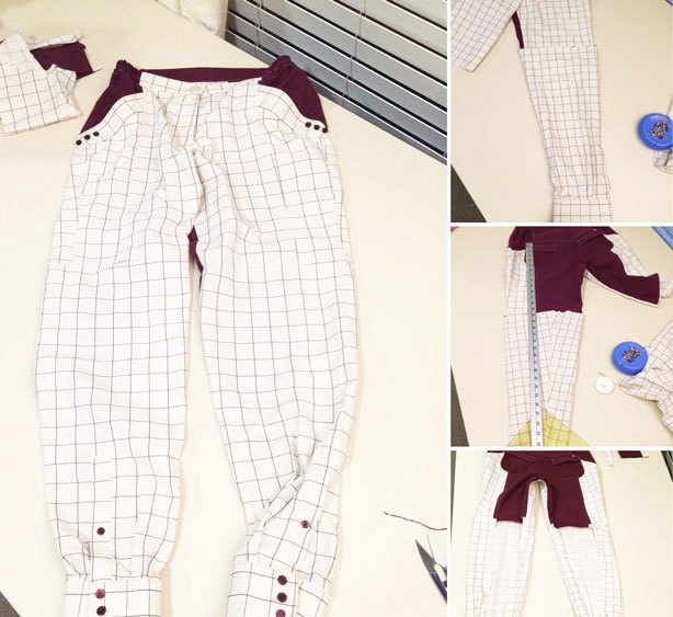 Кюлоты: выкройка брюк, как сшить своими руками женские и детские на резинке