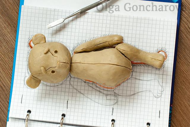 Выкройка для мишки Тедди: как сшить медведя своими руками в натуральную величину