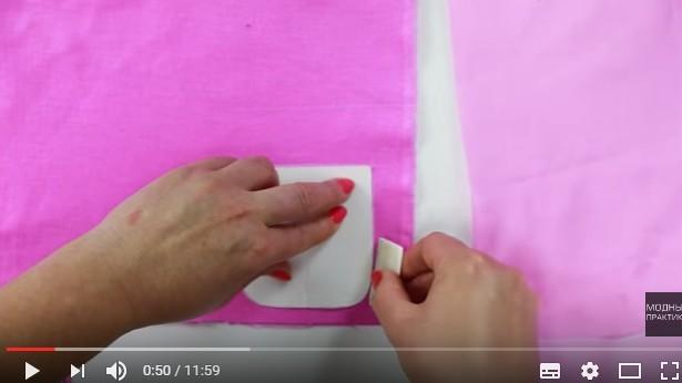Накладной карман: как пришить объемный карман к вязаному изделию, техника пошива
