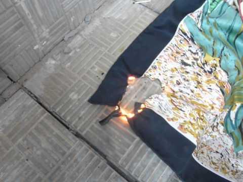Как определить натуральный шелк: электризуется ли, мнется или нет, как горит