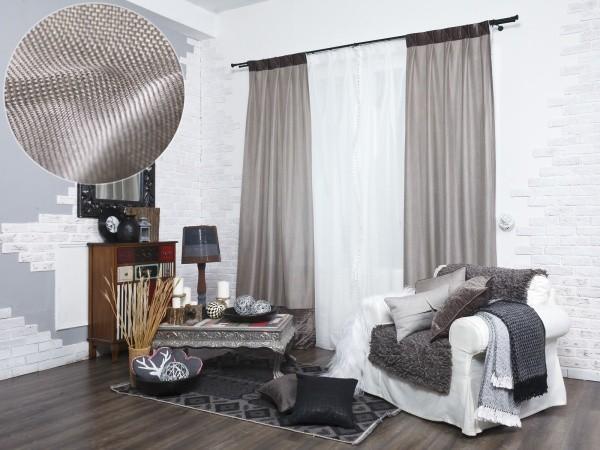 Ткань рогожка: что это такое, материал для штор, мебели, скатертей