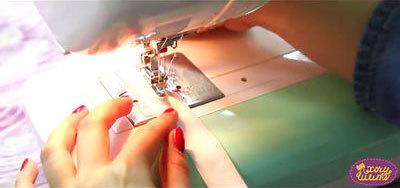 Как шить двойной иглой на швейной машине: как пользоваться, как заправить