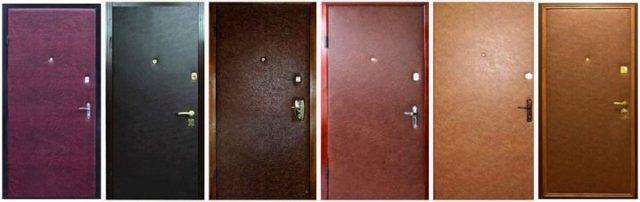Обивка дверей дермантином своими руками: пошаговое описание техники выполнения