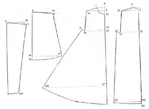 Выкройки для шуб: как сшить искусственную, пошив меховых изделий своими руками