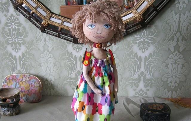 Кукла из ниток своими руками: как сделать из разных тканей красивое изделие