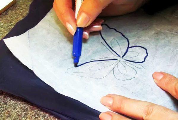 Как перевести рисунок на ткань с бумаги для вышивки в домашних условиях