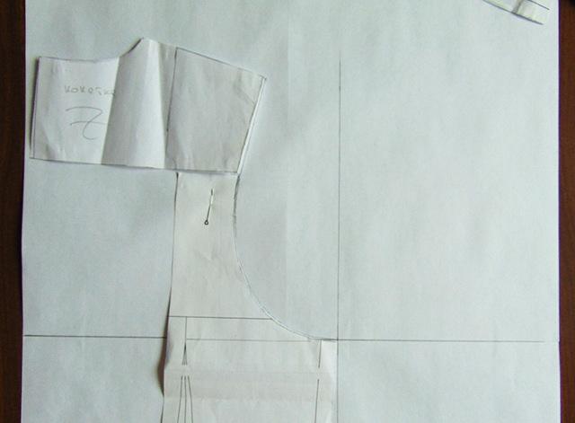 Выкройка рукава для платья по пройме готового изделия: как построить