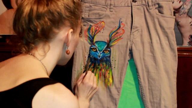 Рисунок на ткани: нанесение в домашних условиях своими руками, как называется