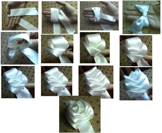 Атласная лента: что это такое, что можно сделать из лент, особенности материала