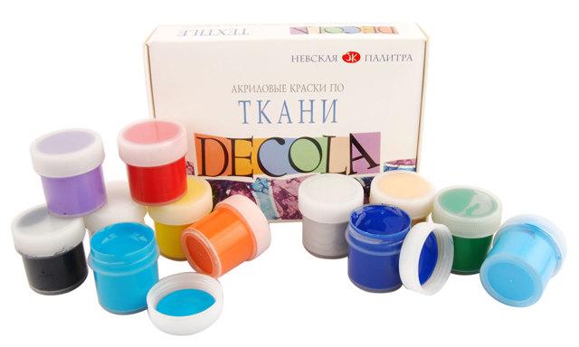 Краска для ткани: несмываемая, акриловые красители, в домашних условиях