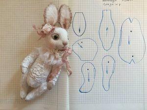 Заяц из ткани своими руками: выкройки, как сделать самостоятельно