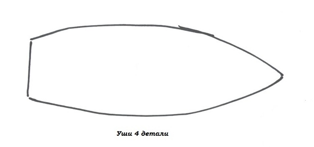 Заяц Тильда: выкройка в натуральную величину с длинными ушами, мальчик и девочка