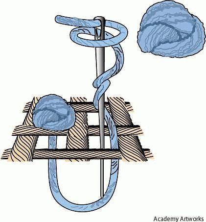 Французский узелок в вышивке крестом: как сделать для начинающих, пошагово