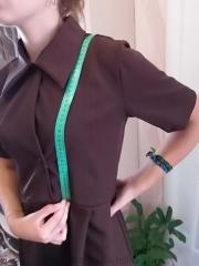 Выкройка школьного фартука: как сшить из гипюра своими руками пошагово