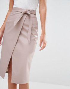 Выкройка для юбки с запахом: как сшить своими руками быстро, для начинающих
