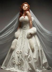 Свадебные ткани и кружева для платьев: какие виды материалов используются