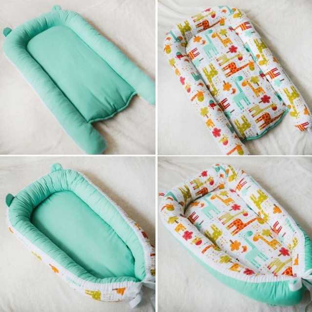 Кокон для новорожденных своими руками: как сшить гнездышко, мастер класс