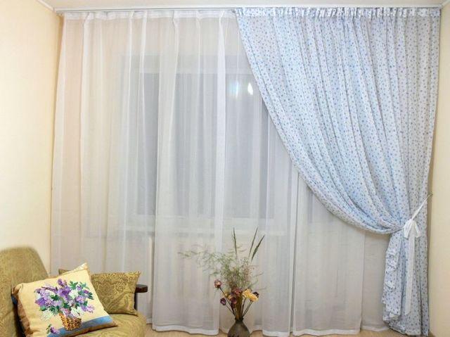 Тюль сетка с вышивкой: французский, вид в интерьере, особенности ткани