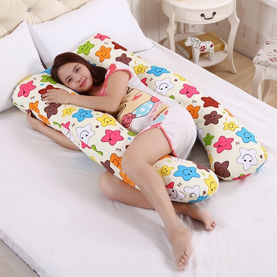 Как сшить подушку для беременных своими руками: выкройка u-образной формы