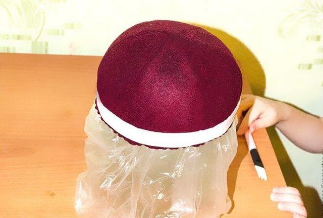 Фетровая шляпа своими руками: делаем головные уборы из фетра самостоятельно