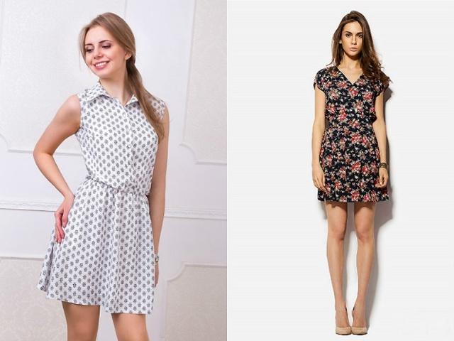 Сшить платье из штапеля своими руками: мастер класс, разные модели
