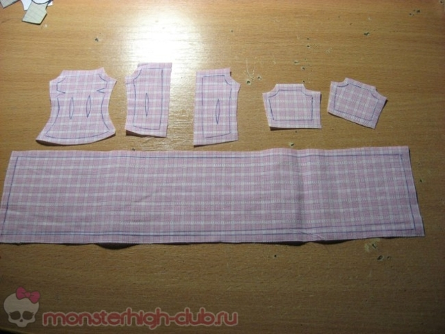 Выкройки одежды для кукол Монстер Хай: как сшить своими руками платье