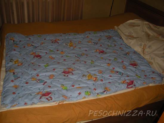 Как сшить детскую простынь на резинке в детскую кроватку своими руками